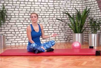 Reyhan Oksay'dan 10 Dakikalık Göbek Eritme Egzersizleri!