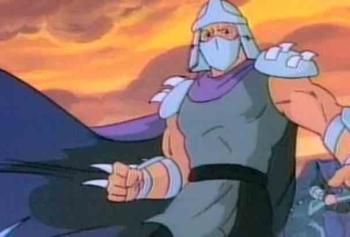 Teenage Mutant Ninja Turtles'tan Shredder Nasıl Çizilir?