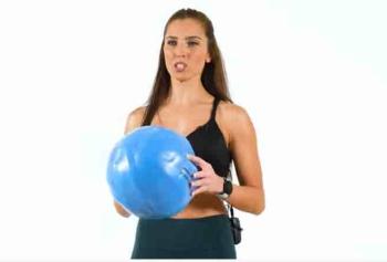 Tuğçe İrtem'den Mini Ball İle Tüm Vücut Antrenmanı!